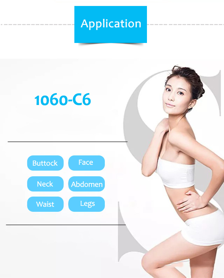 1060-C6 1060nm Diode Laser Body Weight Loss Machine