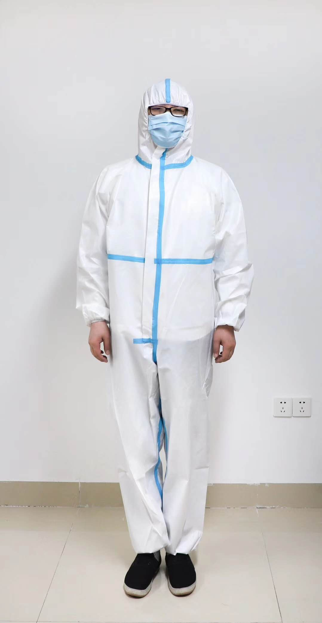 Sterilized Coverall CE Medical Isolation Clothing Disposable Protective Suit