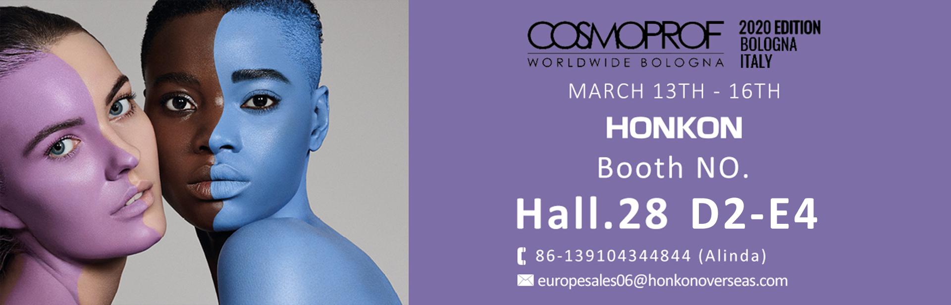 COSMOPROF WORLDWIDE BOLOGNA 13th-16th March