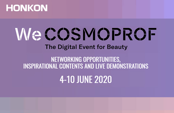 WeCOSMOPROF The Digital Event for Beatuty 4-10 June 2020