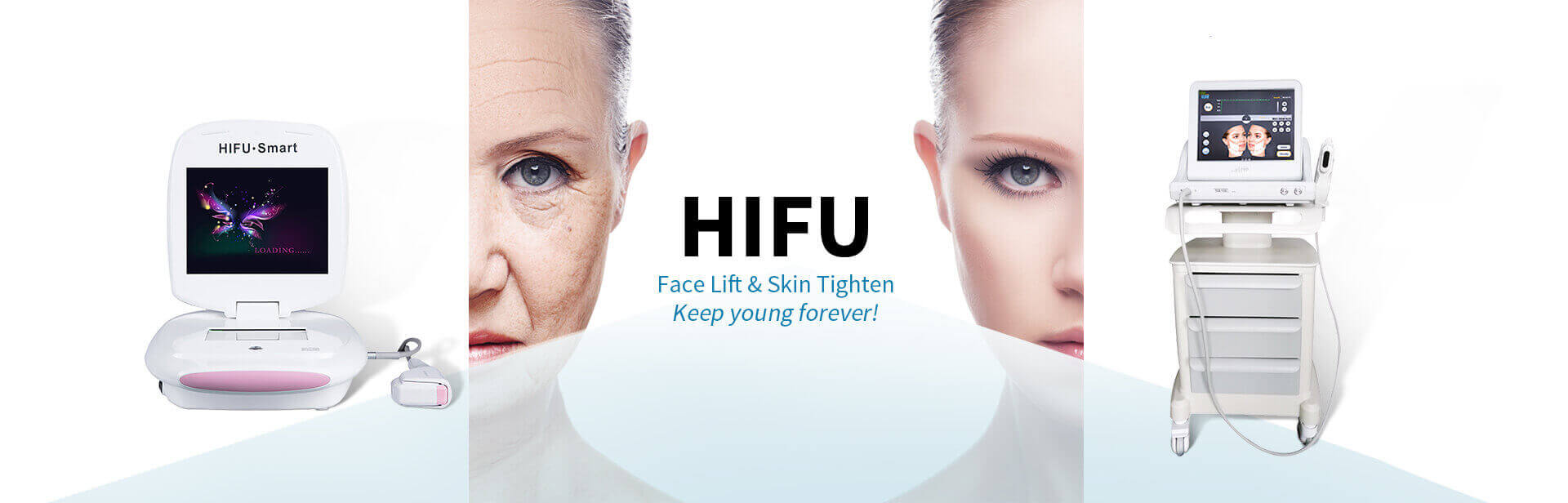 HIFU face lift skin tightening wrinkle removal beauty salon equipment