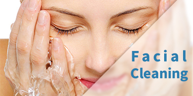 facial cleaning