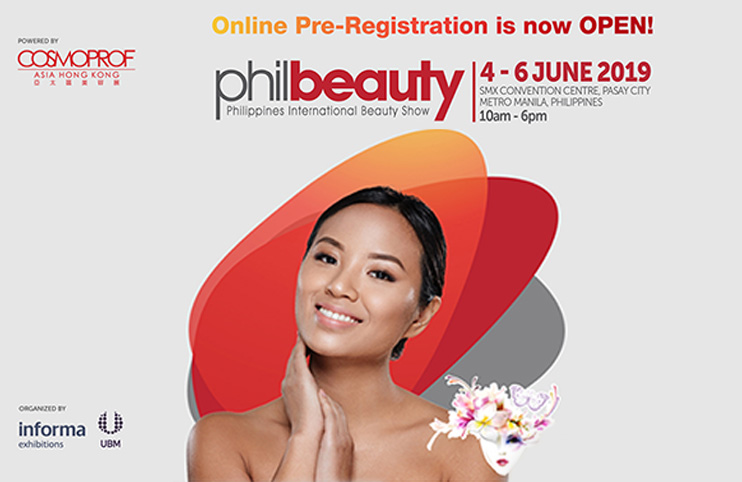 PHIL BEAUTY- Philippines International Beauty Show- June 2019. Pasay City, Metro Manila-Philippines