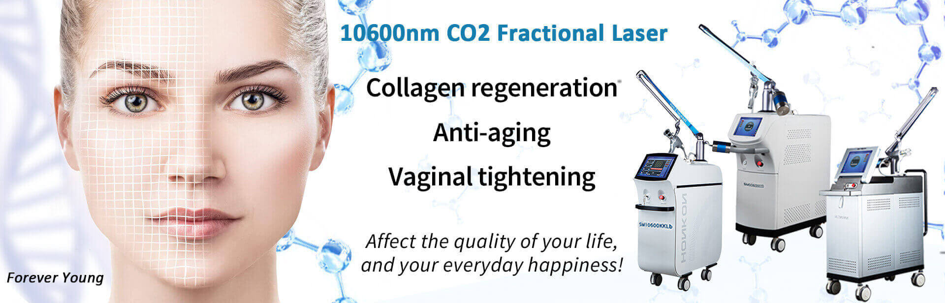 10600nm CO2 Fractional Laser