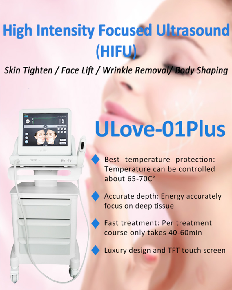 Ulove01-plus HIFU face lift skin tightening wrinkle removal