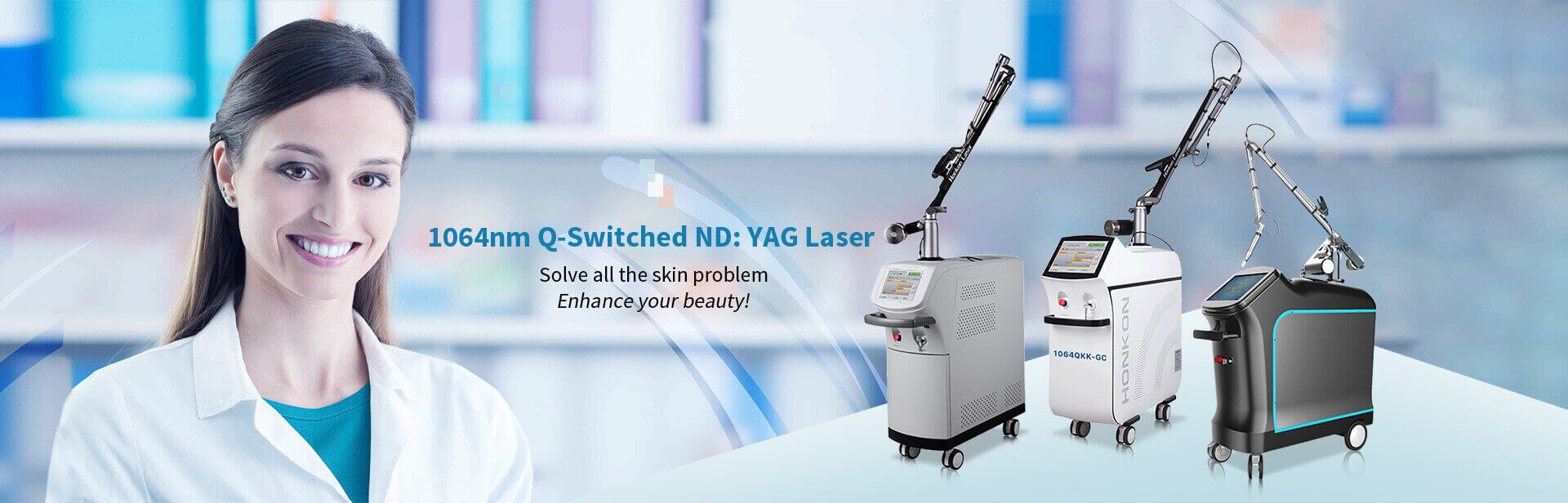 1064nm Q-Switched ND:YAG Laser