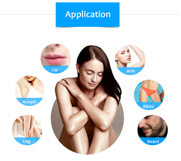 808XF 808nm Diode Laser Permanent Hair Removal Skin rejuvenation Machine