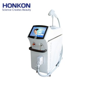 808KK 1200W high quality 808nm diode laser SHR pain free permanent hair removal