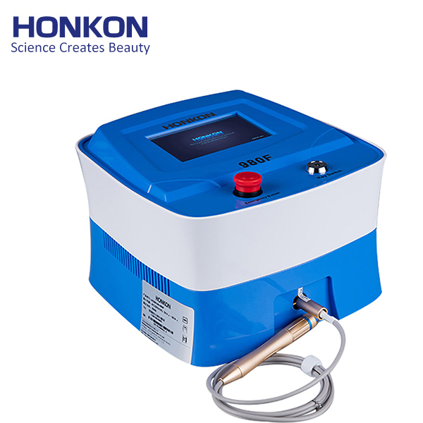 980F 980nm Diode Laser Vascular Spider Vein Removal Machine
