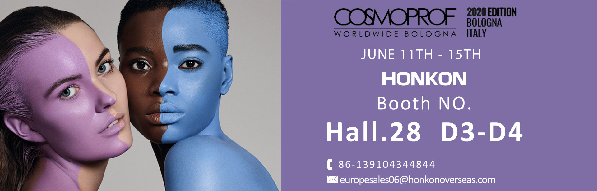 COSMOPROF WORLDWIDE BOLOGNA 11th-15th june
