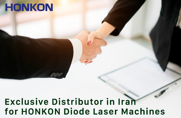 Exclusive Distributor in IRAN for HONKON Diode Laser Hair Removal Machine