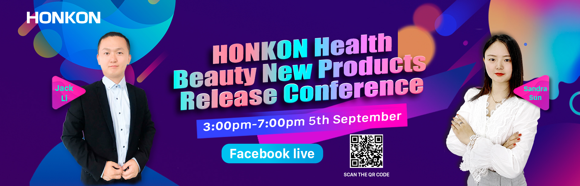 HONKON Health & Beauty New Products Release Conference4