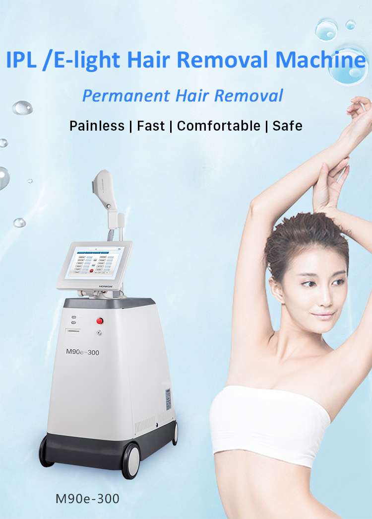 M90E-300 IPL/ E-light Permanent Hair Removal Machine
