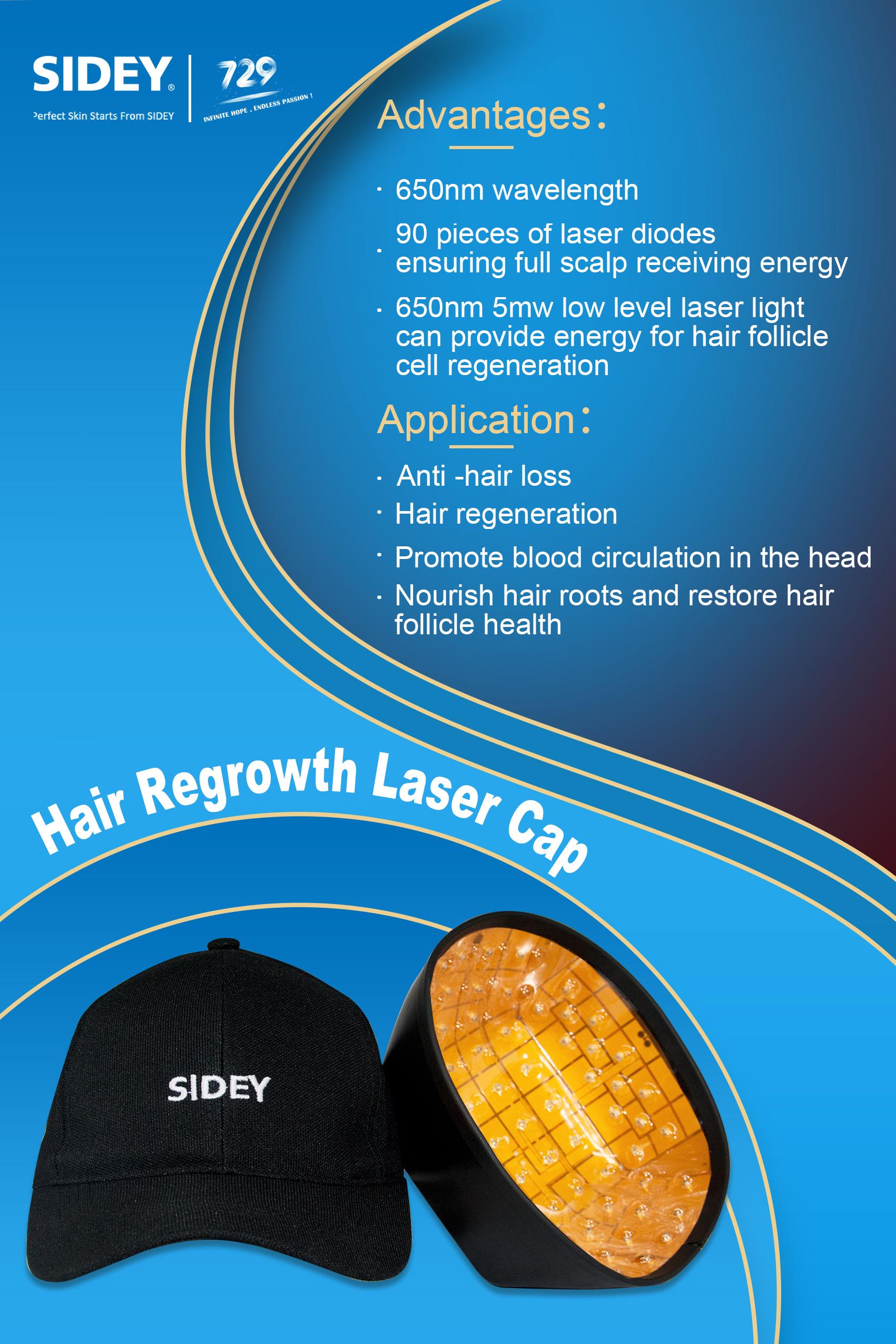 Sidey Hair Regrowth Laser Cap