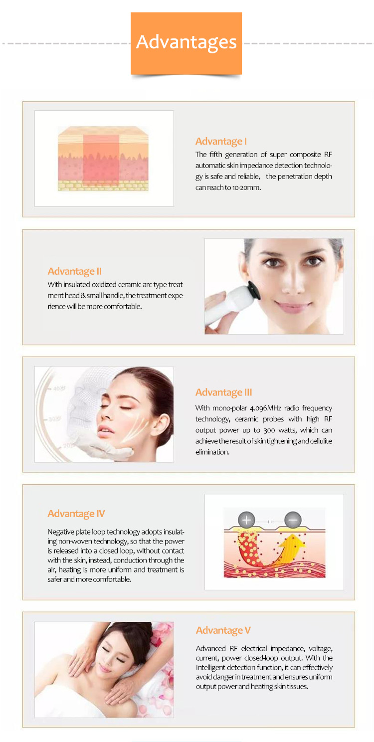 V-LIFT ++ Wrinkles Removal Body Anti Aging RF Skin Lifting Machine