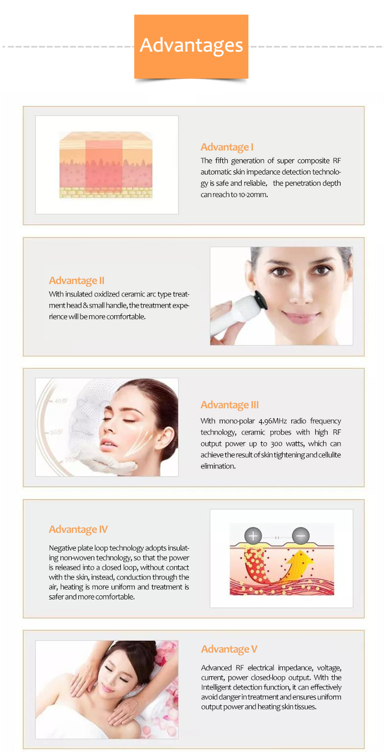 Facial & Skin Resurfacing Machine, Products, RF Skin Lifting & Tightening, Skin Tightening Machine, V-LIFT++