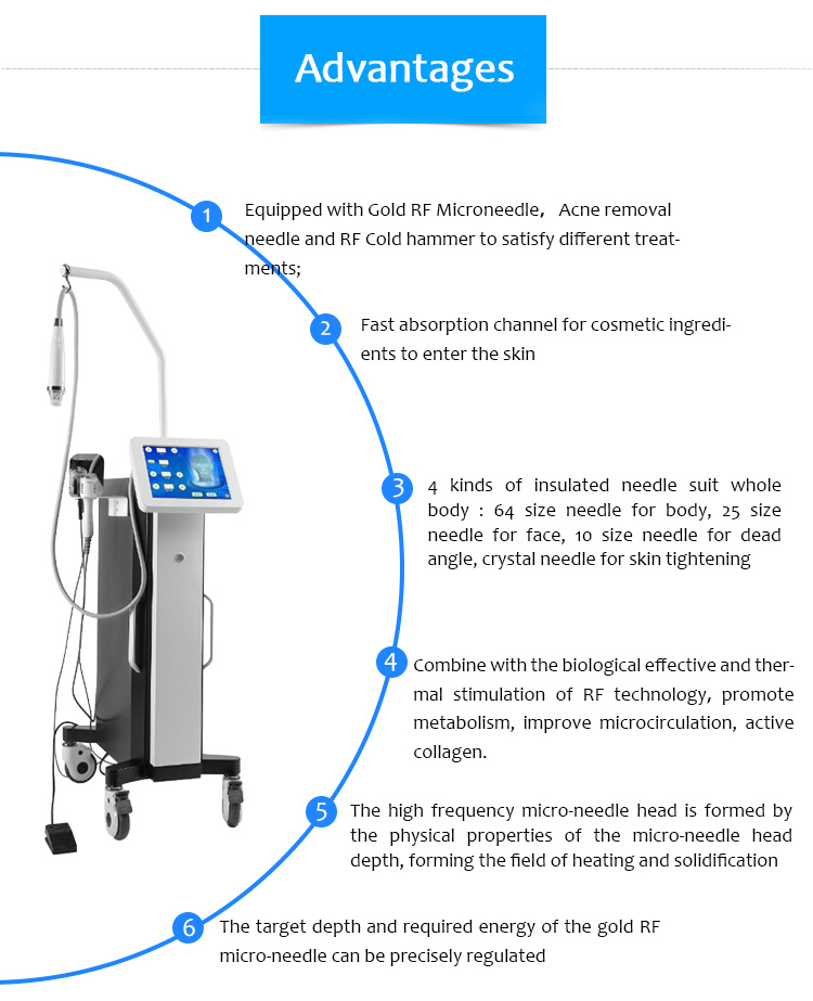 WZ02 PRO Scar Acne Removal Anti-aging Microneedle Beauty Machine