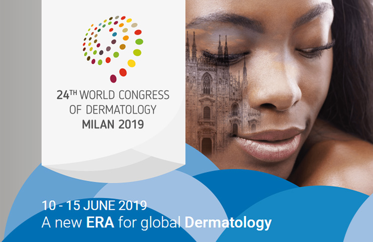 24th World Congress of Dermatology 2019 10  – 15 Jun 2019 Milan, Italy