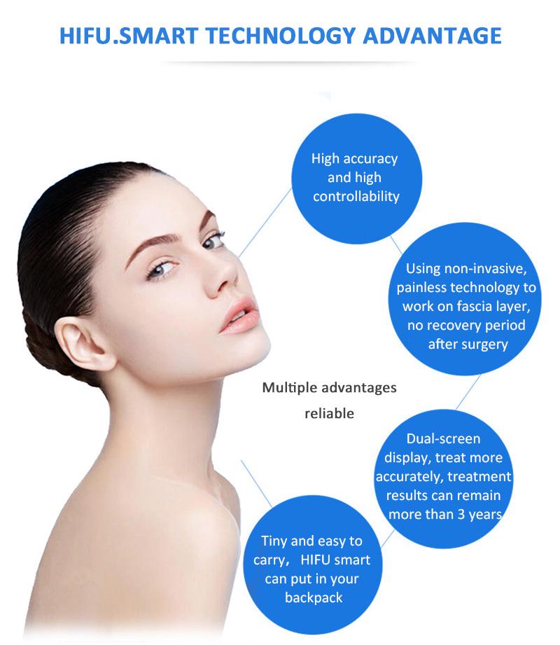 HIFU-smart Smart HIFU anti-wrinkle face lifting skin tightening