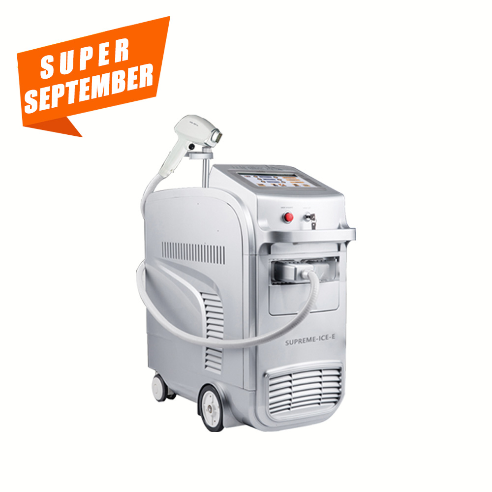 Supreme ICE-E 755 808 1064 3 Wavelengths Diode Laser Hair Removal Machine