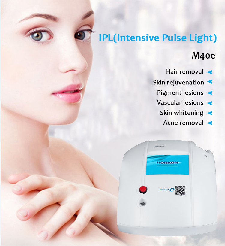 M40E Portable Permanent Hair Removal Skin Rejuvenation IPL Beauty Machine