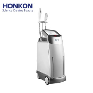 S3C IPL/OPT/SHR Suction Hair Removal Skin Rejuvenation Pigmentation & Vascular Lesion Machine