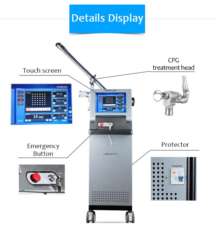 SM10600ZHa CO2 Fractional Laser Stretch Mark/Scar Removal & Skin Regeneration Machine