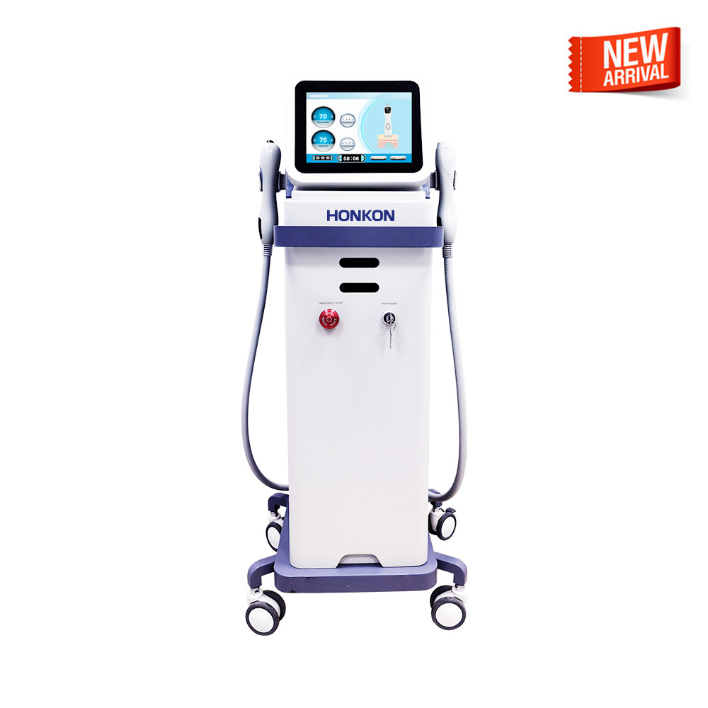 SSS-1 13.56Mhz Epidermal Cooling Monopolar RF Face Lifting and Skin Tightening Beauty Machine